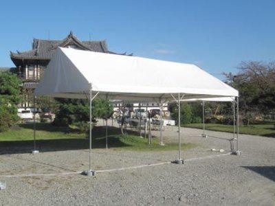 夏場の休憩所に埼玉でテントを借りるならイベント21!